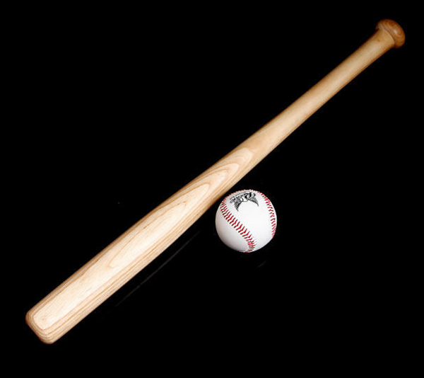 Wedding Party, Personalized Wooden Baseball Bat