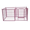 New Panel Heavy Duty Metal Pet Playpen Indoor Outdoor Dog Exercise Pen Fence