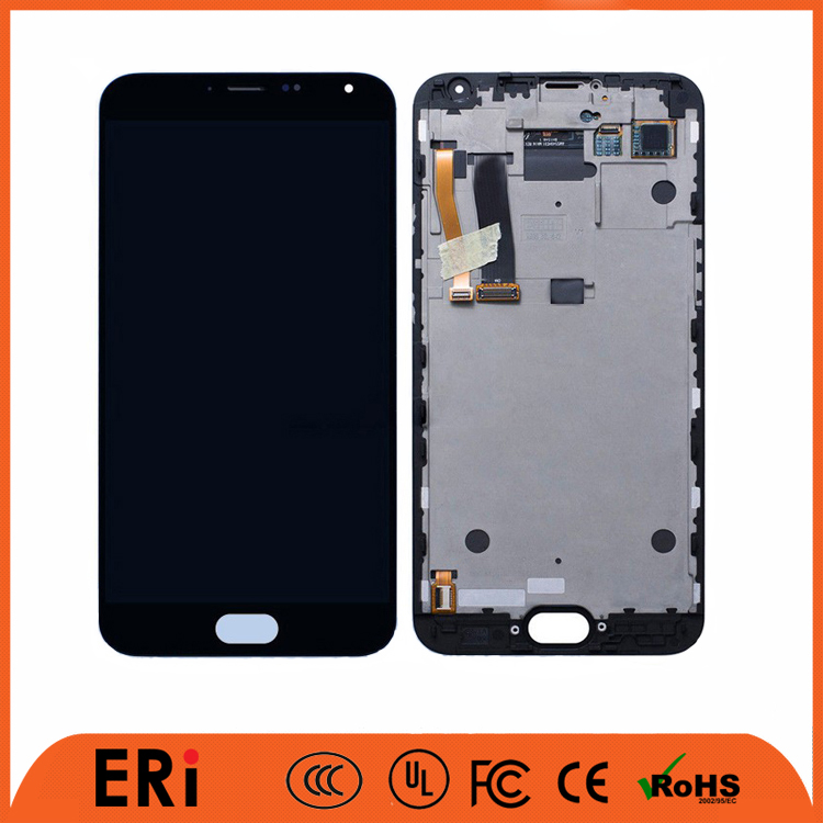 High quality 100% original new touch lcd screen for meizu mx5