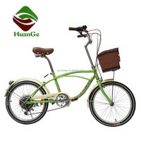 2016 new style 20'' 6 speed beach cruiser bike chopper bicycle for sales