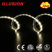 High quality AC120V IP65 SMD 2835 Pure white flexible led strip with ETL
