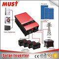 MUST Hybrid inverter solar power system 6000W 48V