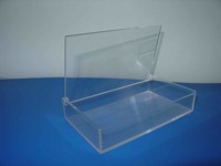 clear plastic box for playing cards