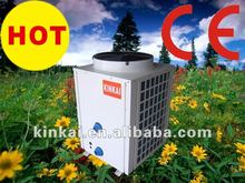 Titanium Condensor Pool 18kw Air water to water source swimming pool heating cooling control heater heat pump
