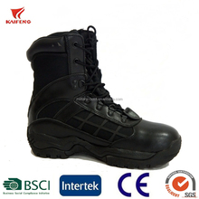 kaifeng famous brand waterproof tactical police boots jungle spider military boots