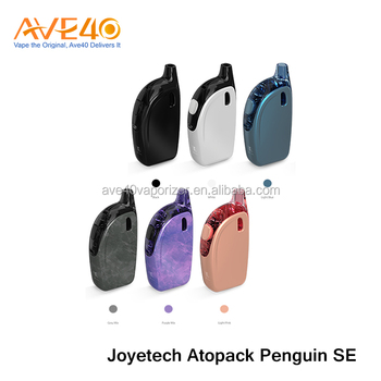 2017 Newest All-in-one Style Penguin Shape Vape Starter Kit Joyetech Atopack Penguin