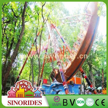 Classic amusement park rides real pirate ships for sale