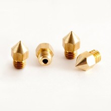 High quality custom brass CNC machining 3D printer nozzle parts