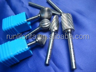 High Quality Long Shank Tungsten File Carbide Rotary Burrs
