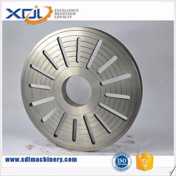 ISO9001 Certificated Custom Made Cast Iron Plates for Machinery