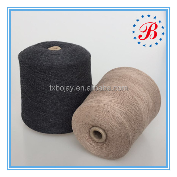 Eco friendly factory supply yarn Nm 48/2 Acrylic 50%/ Wool 50% Blended Yarn for knitting weaving