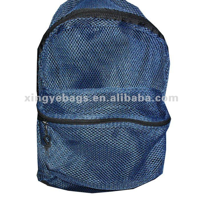 New product for 2013 hot sale fashional design Mesh Backpack bags XY-2012401
