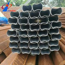 Food Grade With Hydraulic Testing Crazy Selling Q 235 Welded Black Oval Steel Pipe