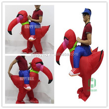 HI new landing turkey inflatable costume Halloween inflatable costume customized costume for sale