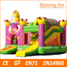 hot topical inflatable combo bouncy and slide, inflatable jumping bouncer