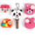 2016 Promtotional items for Children PVC cartoon smart key covers(LH-3015)