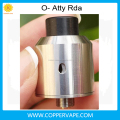 Great quality O-atty 2016 new design teardrop shaped air-flow o atty bottom feeder pin included