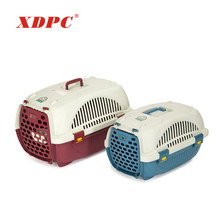 Pet products innovator luxury plastic small dog carrier
