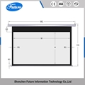 ODM Iron manual pull down front projection projector screen guide