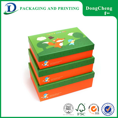 Common shape cartoon box blanket cupcake for packaging