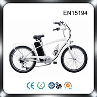 lithium battery PAS system 250w high speed brushless motor easy rider electric bike