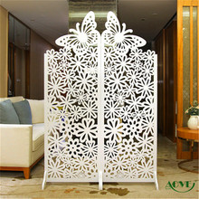 High quality folding screen,cheap antique folding screens room divider cardboard folding screen