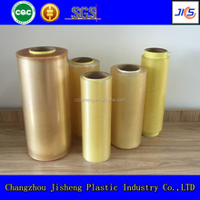 Top quality soft transparent food packaging plastic roll film