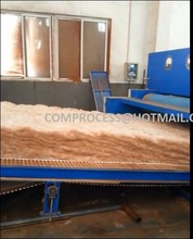 energy saving new modle non-woven jute felt production line