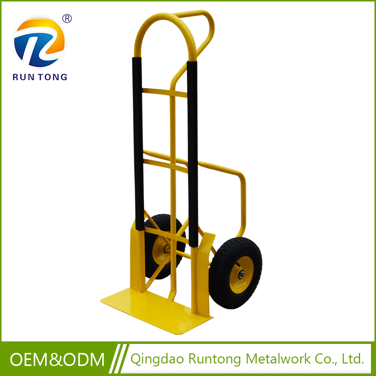 hand trolley for heavy loading, sack hand truck with 2 wheel and 2 wheel hand truck