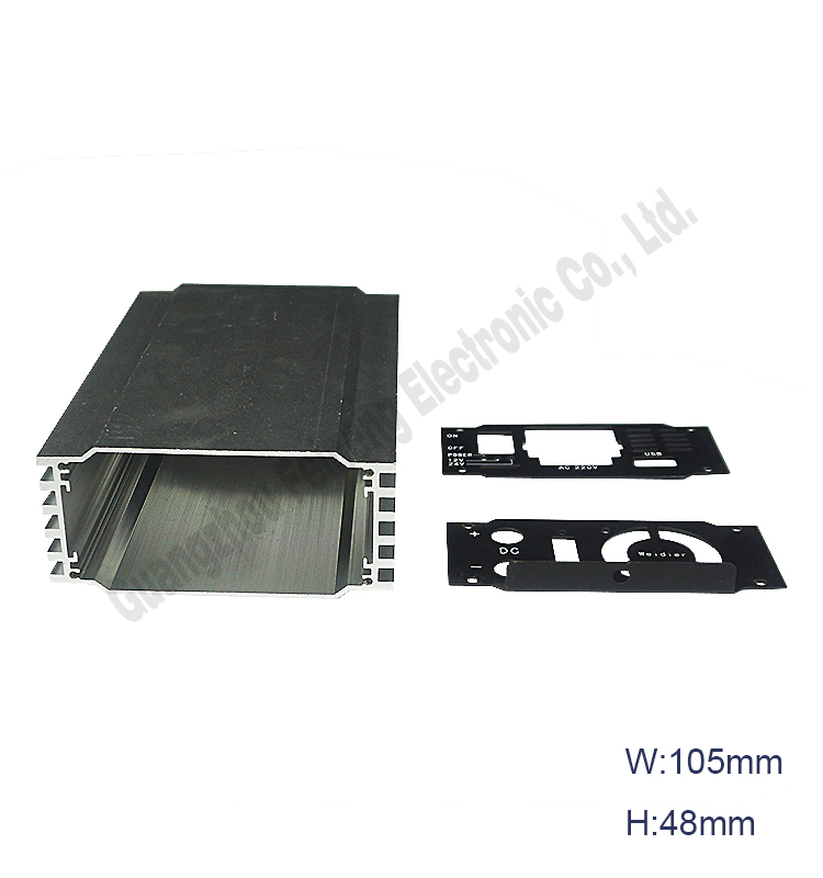 2.5 inch wifi hdd enclosure 15mm same as aluminium enclosure ip65 black