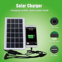 Solar Power Bank Dual USB Portable External Battery Charger For Mobile