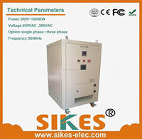Samples offered variable voltage resistive load bank