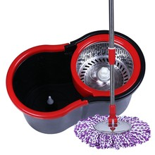 Magic Handle Type and Eco-Friendly Feature Twist Kitchen Mops And Bucket