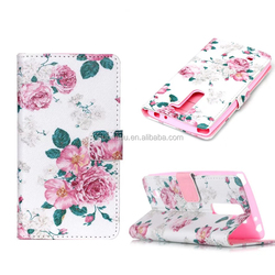 Slim New Arrival pu leather case cover for lg g4 mini factory price