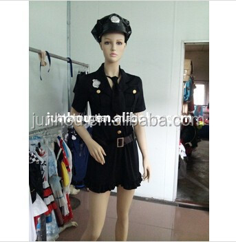Adult drop ship carnival styles junhao Ladies Pirate Police Nurse Maid Fairytale Xmas Fancy Dress Costume