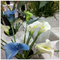 artificial latex decorative factory direct sell large calla lily flowers