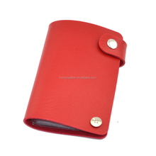 Wholesale Rotate pvc credit card holder can hold 24 cards