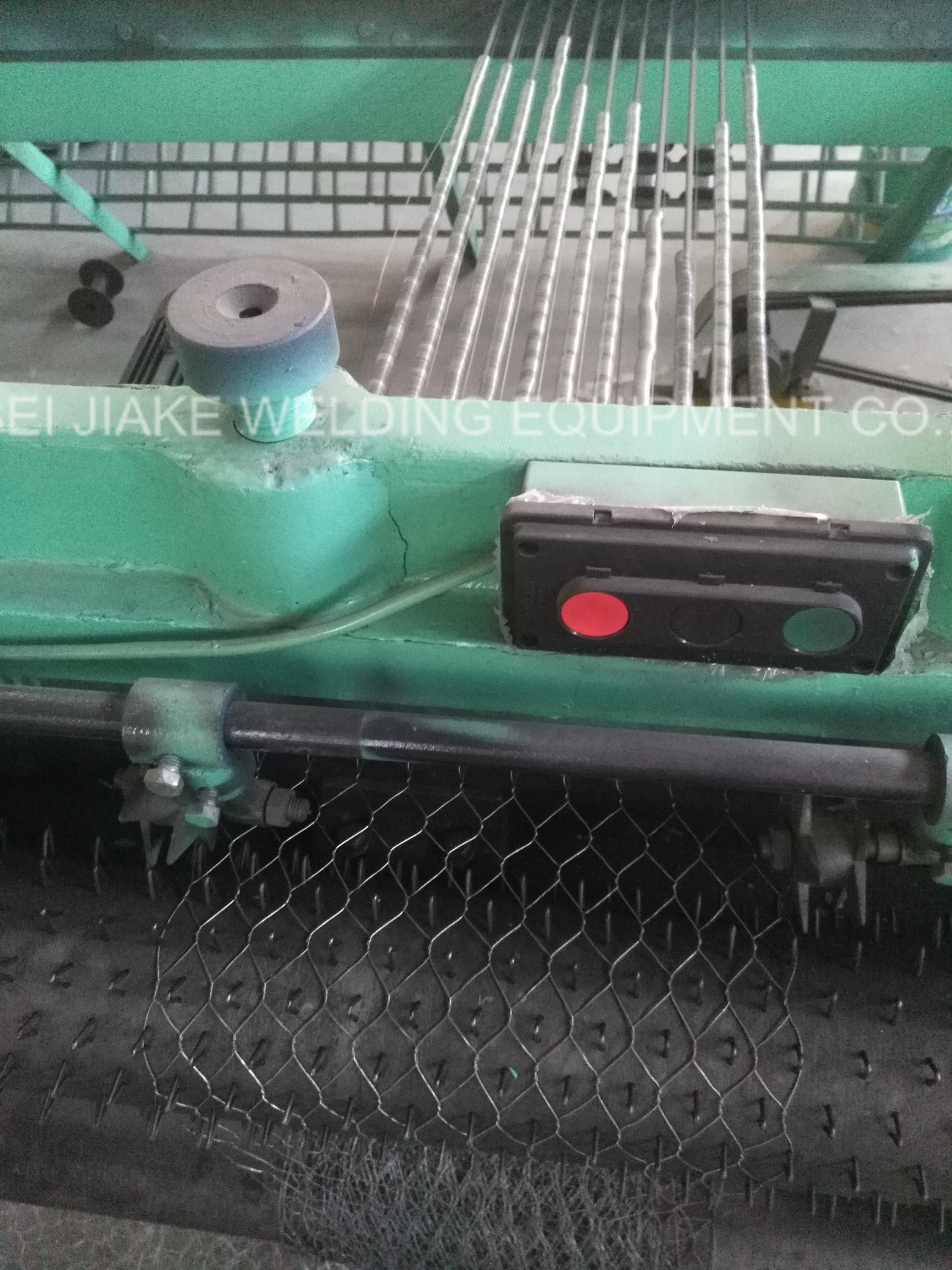 normal twisted hexagonal wire mesh netting machine