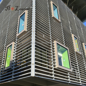 Motorized Sun Control Louvers View Operable Louvers Prolouver Product Details From Foshan City