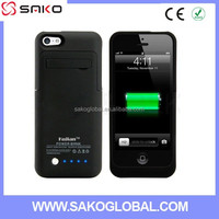 External Battery Case for iPhone 5 5 S Backup battery charger case for iPhone 5 5s 5c No Tax in USA