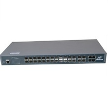 1000Mbps 24 ports SFP Gigabit optical Fiber Ethernet Switch with 4 TX/SFP combo