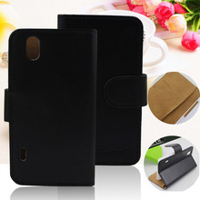 High quality stand flip leather case for lg p970 cover optimus black