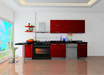 China modern design kitchen cabinet