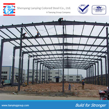 China Supplier Light Steel Construction Design Prefabricated Workshop Large Span Steel Structure Warehouse for sale