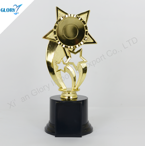 Wholesale Cheap Star Plastic Trophy Cup For