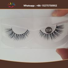 3D Mink Fur Eyelash With Private Packaging Box Custom False Eye Lashes Factory Selling