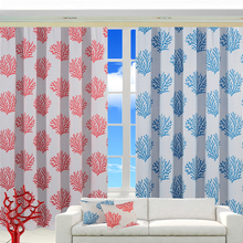High quality France hanging printing curtain match cushions