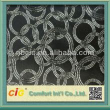 Latest Fashion Metallic Sunflower Emboss Furniture Sofa PU Leathers