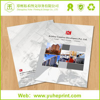 Customized size delicate CMYK A4 booklets free design wholesale printing auto parts catalog