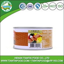 Metal Material and Canned Food Use corned beef tin can
